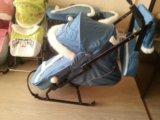 Санки коляска. Фото 3.
