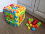 """Playgo развивающий центр """"разборный куб"""" с 6 мес. Фото 1."""