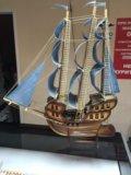 Корабль ручной работы. Фото 1.