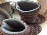 Домашние тапки-угги. Фото 2.