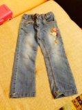 Джинсовые брюки 300р.и юбка 350р. Фото 2.