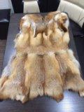 Натуральный меховой жилет(лиса). Фото 2.