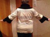 Куртка кожаная 62 размер. Фото 2.