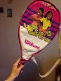 Детская теннисная ракетка wilson. Фото 1.