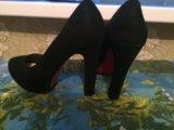 Замшевые туфли!. Фото 1.