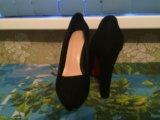 Замшевые туфли!. Фото 3.