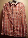 Рубашка cedarwood state с капюшоном. Фото 2.