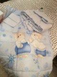 Детский комплект в кроватку. Фото 3.