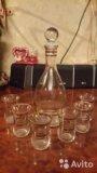 Набор для водки богемия. Фото 1.