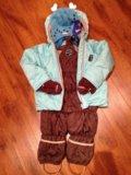 Зимний комплект huppa шапка reima. Фото 1.