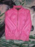 Кожаная куртка детская. Фото 2.