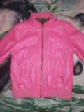 Кожаная куртка детская. Фото 3.