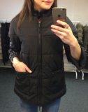 Куртка с отделкой из норки. Фото 2.