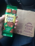 Шоколад alpen gold. Фото 1.