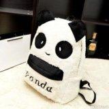 "Рюкзак плюшевый ""панда"" + сумочка и пенал. Фото 2."