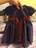 Нарядное платье для девочки. Фото 3.