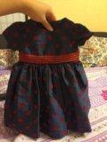 Нарядное платье для девочки. Фото 4.