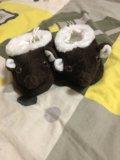Новые детские тапочки. Фото 1.