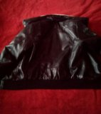 Новая кожаная куртка унисекс. Фото 2.