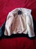 Новая кожаная куртка унисекс. Фото 3.