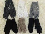 Новые перчатки с камнями. Фото 1.