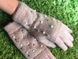 Новые перчатки с камнями. Фото 2.