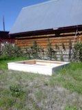"""Детская """"песочница бассейн"""" из массива сосны. Фото 2."""