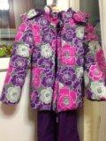 Зимняя куртка для девочки р 134. Фото 1.