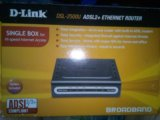 D-link dsl-2500u adsl2+ ethernet router. Фото 1.