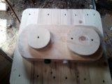 Печка детская деревянная. Фото 1.