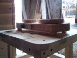 Печка детская деревянная. Фото 2.