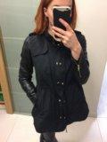 Куртка осенняя zara. Фото 1.