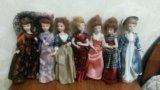 Куклы фарфоровые. Фото 1.