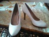 Туфли белые. Фото 1.
