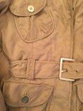 Курточка zara woman бежевая, милитари м. Фото 2.