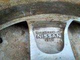 Комплект литых дисков с зимней резиной. Фото 2.