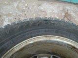 Комплект литых дисков с зимней резиной. Фото 3.