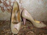 Кожан.туфли,36р. Фото 1.