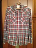 Рубашка мужская levis, l. Фото 1.