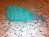 Интерьерная игрушка кит. Фото 1.
