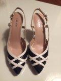 Кожаные , новые , женские туфли. Фото 1.