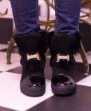 Новые зимние ботиночки hermes. Фото 1.