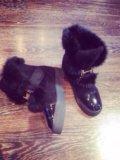 Новые зимние ботиночки hermes. Фото 2.