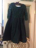 Платье с гюпюром. Фото 2.