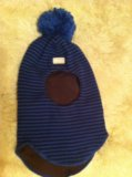 Шапка- шлем  демисезонная. Фото 1.