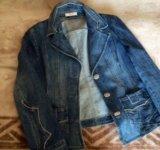 Джинсовый пиджак laurel 50р. Фото 1.