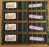 Модуль памяти ddr 256мв pc-3200 400mhz. Фото 1.
