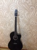 Guitar naranda cag240cbk. Фото 4.