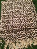 Палантин леопардовый. Фото 1.