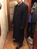 """Длинное мужское пальто марки """"premier"""". Фото 2."""
